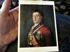 COLLECTABLE POSTCARD NATIONAL GALLERY GOYA DUKE OF WELLINGTON 1336